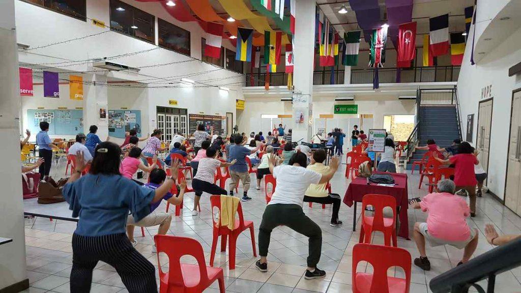 Stretching Seniors